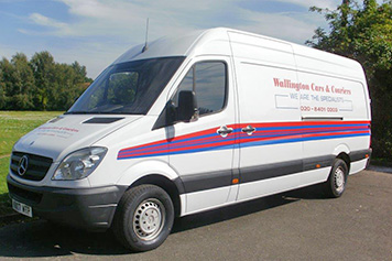 Extra large van same day courier service