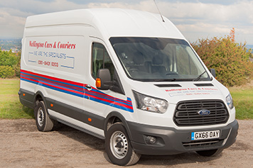 Large van same day courier
