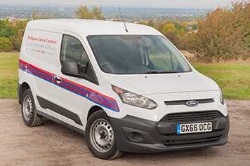 Small van same day delivery courier